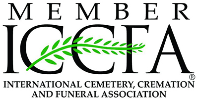 We are a member of the International Cemetery, Cremation and Funeral Association